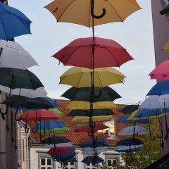 Paraplu's en onweer