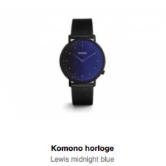 Alles wat je wilt weten over Komono horloges